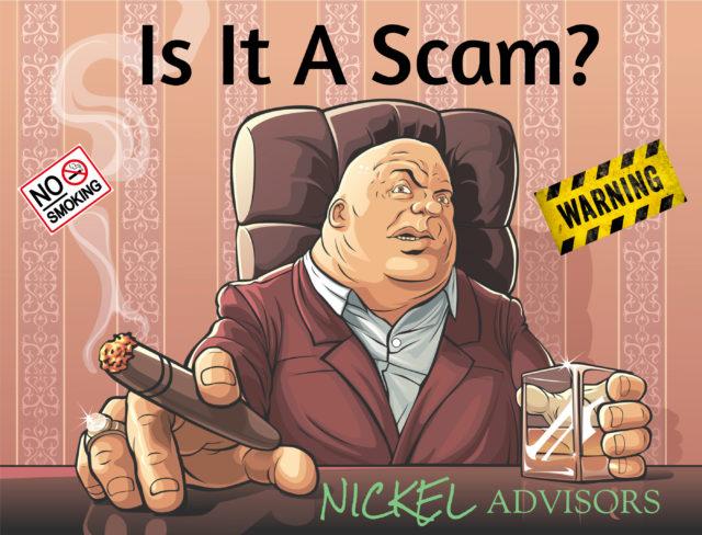 Nickel Advisors Scam