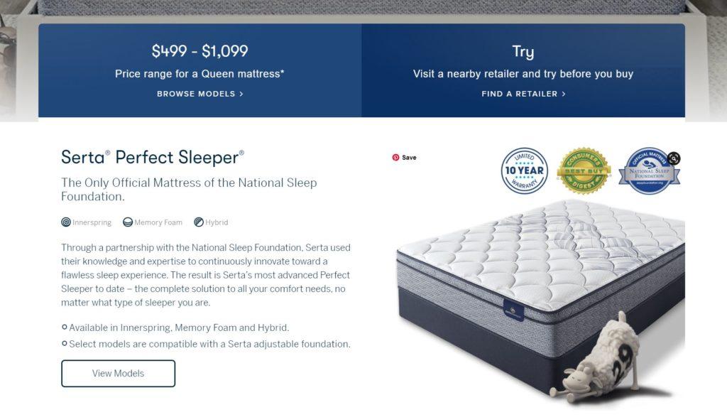 erta Perfect Sleeper Complaints