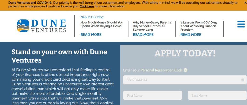 Dune Ventures Scam