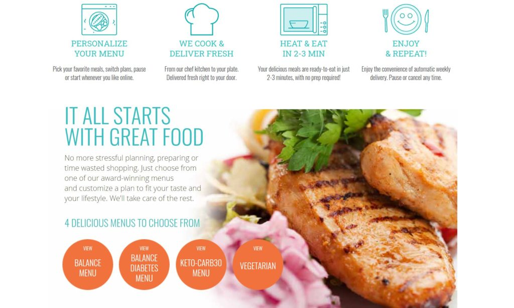 Diet to Go Meal Plans