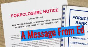 Foreclosure Ban