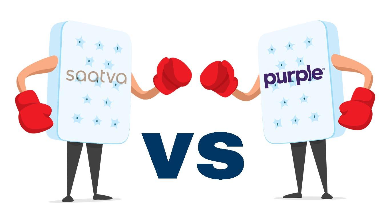 Saatva Vs Purple Mattress Review
