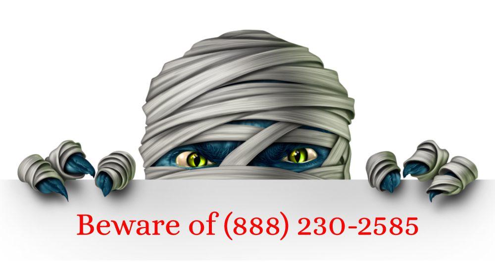 8882302585 scam