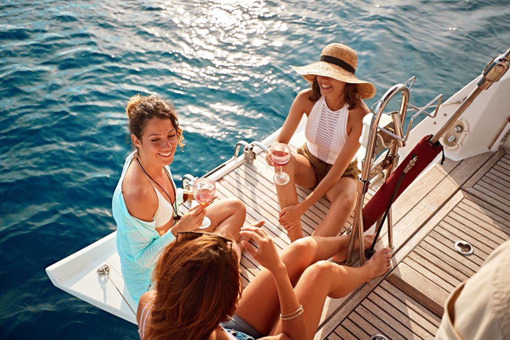 Girls' Trip Boat